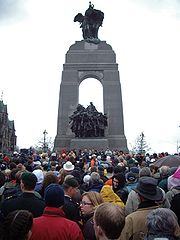 Canadian National War Monument - Ottawa